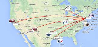 Illinois On A Map by Nfl Schedule 2014 Philadelphia Eagles Travel Map Covers 17 566