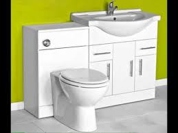 Combination Vanity Units For Bathrooms by Toilet And Sink Vanity Unit Combination Uk Youtube