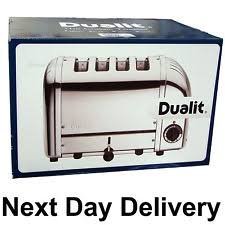 Dualit Stainless Steel Toaster Dualit Toasters With Cancel Button Ebay