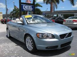 volvo convertible 2006 volvo c70 t5 convertible in celestial blue metallic 005962