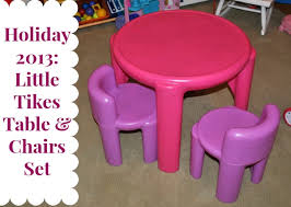 pink table l holiday 2013 little tikes pink table chairs set mommymandy l