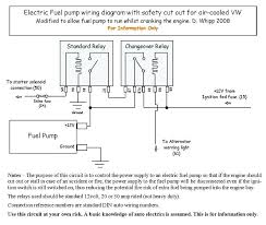 electric fuel pump relay wiring diagram fuel pump relay wiring