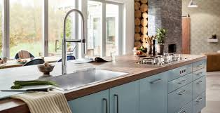 kitchen cabinet sink used semi professional chef style kitchen faucets for home blanco