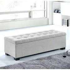 bedroom bench seat with storage bench in front of bed wooden