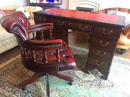 Office Desk Leather Top Office Desk Office Desk Leather Top Antique Style Captains