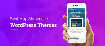 themes for mobile apps best mobile app showcase wordpress themes single web design