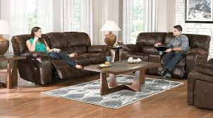 cindy crawford recliner sofa cindy crawford home alpen ridge brown 5 pc reclining living room