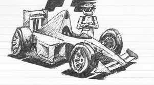 cartoon car drawing design 90 u0027s f1 cartoon cars purchaseable on redbubble felix dicit