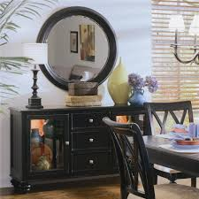 American Drew Dining Room Furniture American Drew Camden Dark China Buffet Credenza With 2 Glass
