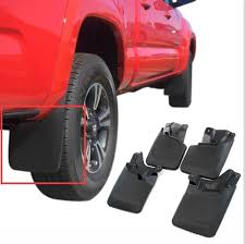 nissan frontier mud flaps for toyota tacoma 2016 17 mud flaps mud guards splash flares 4 pcs
