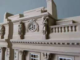 plaster architectural model of somerset house london