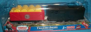 Tidmouth Sheds Trackmaster Ebay by Image Thomastrackmastertalkingdieselupdatedbox Jpg Thomas And