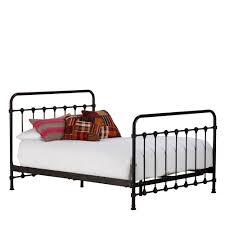 Black Metal Bed Frame Keeler Metal Bed Frame Vintage Black