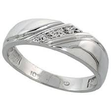band ring diamond factory dallas 10k white gold men s diamond wedding band