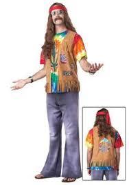 70s Halloween Costumes Men Hippie Dude Costume Costumes