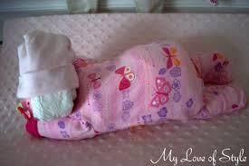 Diaper Cake Directions Diy Sleeping Baby Diaper Cake My Love Of Style U2013 My Love Of Style