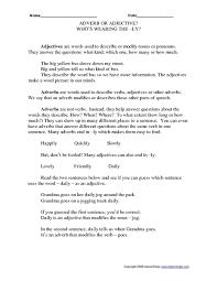all worksheets adverbs and verbs worksheets printable