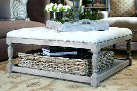 Large Ottoman Coffee Table Large Ottoman Storage Etechconsulting Co