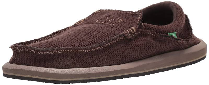 Sanuk Chiba Weava Shoes Brown- Mens