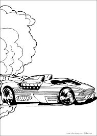 wheels color page coloring pages for kids cartoon