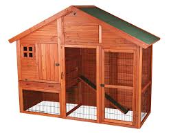 Cheap Rabbit Hutch Amazon Com Trixie Pet Products Rabbit Hutch With Gabled Roof