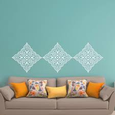 Wall Decal For Living Room Online Get Cheap Wall Vinyl Damask Aliexpress Com Alibaba Group