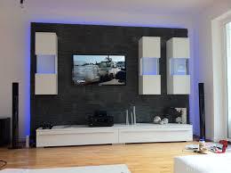 Wohnzimmer Mit Indirekter Beleuchtung Fernsehwand Mit Indirekter Beleuchtung