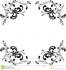 decorative ornaments with butterfly stock vector image 9783096