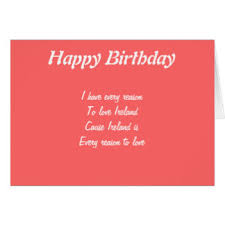 ireland birthday cards greeting u0026 photo cards zazzle