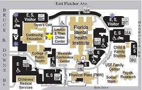 map usf contact us usf health