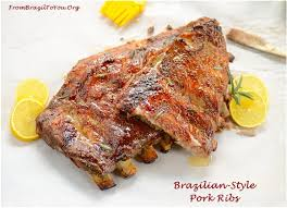 brazilian style pork ribs costela de porco assada easy and delish