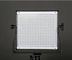 apex jy500s led light 5500k with barndoor and softbox with