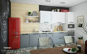 Cute Kitchen Ideas For Apartments Stylish St Petersburg Apartment For An Artistic Professional Couple