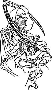 grim reaper tattoo designs real photo pictures images and