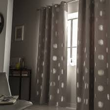 rideau occultant chambre rideau gris occultant rideau occultant en polyester iris x cm gris