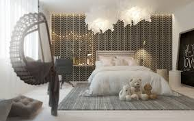 a pair of childrens bedrooms with sophisticated themes children