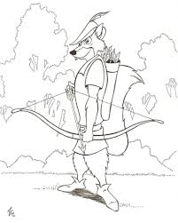 robin hood coloring pages coloring pages kids