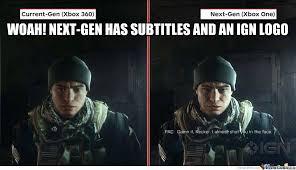 Next Gen Dev Meme - official official wii u lobby specs graphics power thread