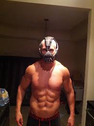 halloween costume bane the life of vinvin model athlete jeff grant as