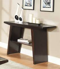 modern sofa table homelegance cullum sofa table dark espresso 3427 05