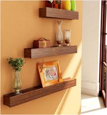Wood Kitchen Shelves by Awesome Wall Shelves At Home Depot 98 In Wall Mounted Wood Kitchen