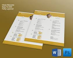 resume templates free download documents to go cv templates 61 free sles exles format download free