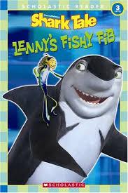 u0026a u0027s children u0027s book reviews review shark tale lenny u0027s fishy