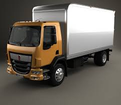 kenworth 2016 models kenworth k370 box truck 2014 3d model hum3d