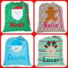 personalised children s sack by specialsantasacks