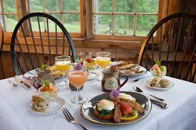 breakfast table breakfast pilgrim s inn