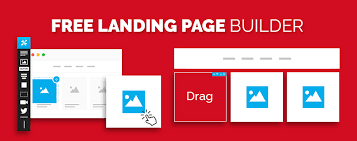 lead gen online income squeeze page template with free landing