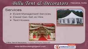 tent houses by billu tent u0026 decorators gurgaon youtube