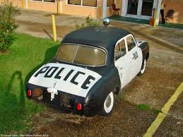1961 renault dauphine what u0027s a renault dauphine police car doing in rural louisiana