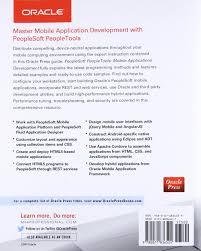 peoplesoft peopletools mobile applications development oracle